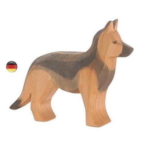 Figurine chien berger allemand, jouet en bois ecologique steiner waldorf de  Ostheimer