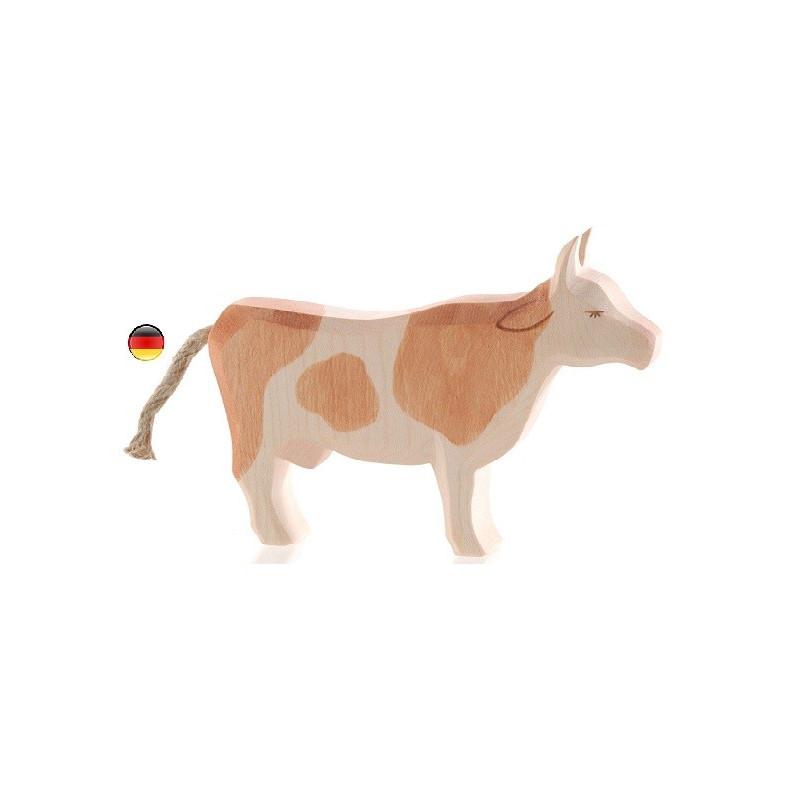 Figurine vache, animal, jouet en bois ostheimer steiner waldorf ostheimer atelier des peupliers