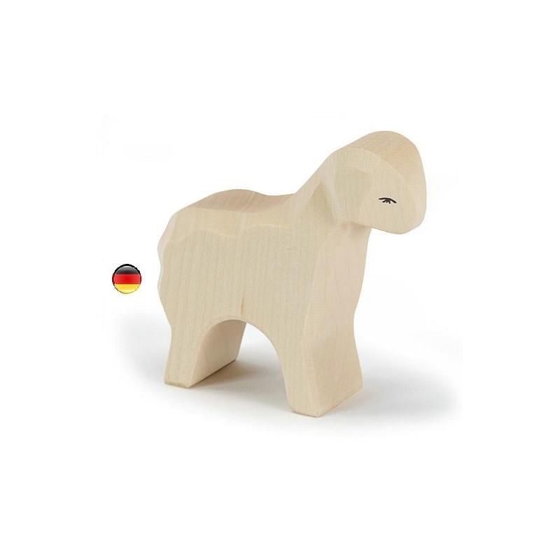 Figurine mouton, animal, jouet en bois steiner waldorf atelier des peupliers, ostheimer