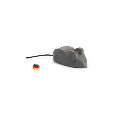 figurine Animal souris, jouet en bois artisanal waldorf steiner ostheimer