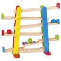 Toboggan des boules, circuit de balles en bois  avec xylophone goki
