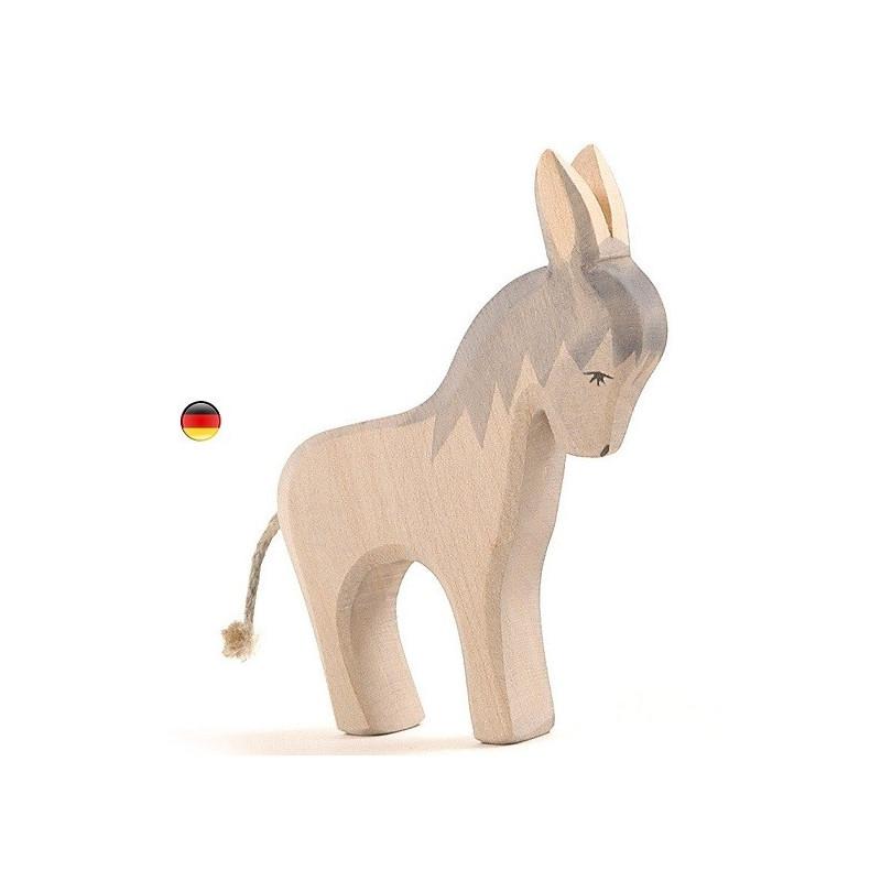 Ane, figurine animal jouet en bois steiner waldorf atelier des peuplier de ostheimer