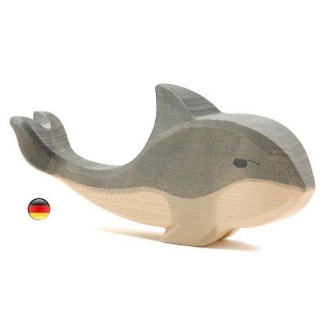 Figurine Baleine en bois Ostheimer