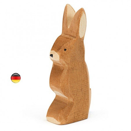 Figurine lapin debout Ostheimer