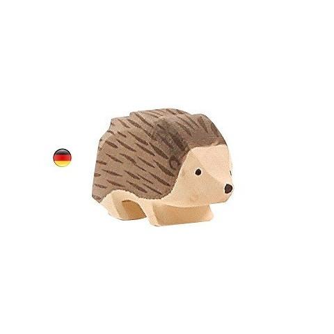 herisson, figurine animal, jouet en bois ostheimer alsace