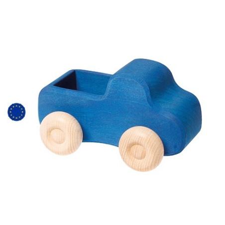 Camion bleu en bois Grimm's