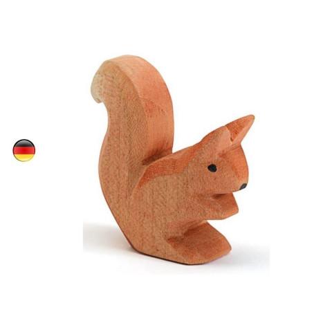Figurine écureuil, animal, jouet en bois steiner waldorf Ostheimer