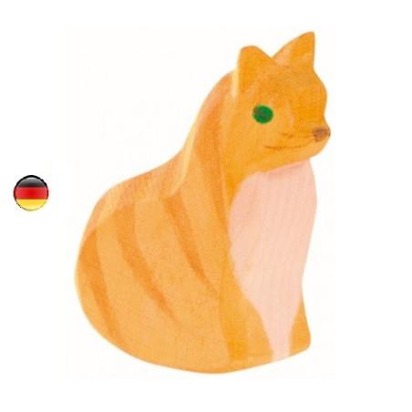 Figurine chat assis, Ostheimer