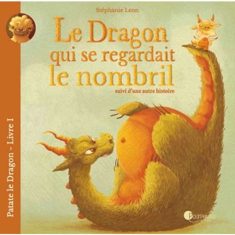 Le dragon qui se regardait le nombril, livre illustré