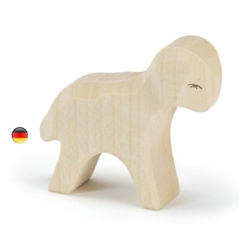 agneau Figurine mouton, animal, jouet en bois ostheimer steiner waldorf Ostheimer