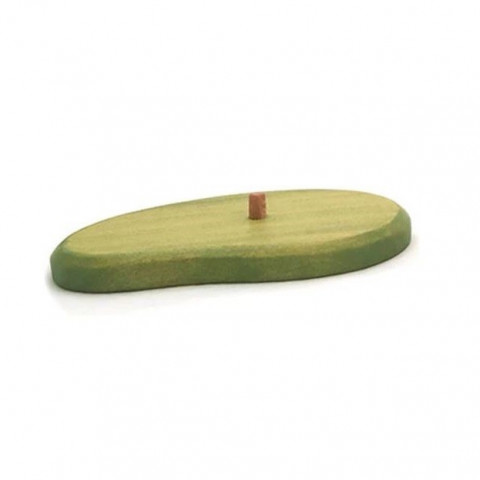 Base verte, support arbre ou herbe decor en bois Brin d'ours