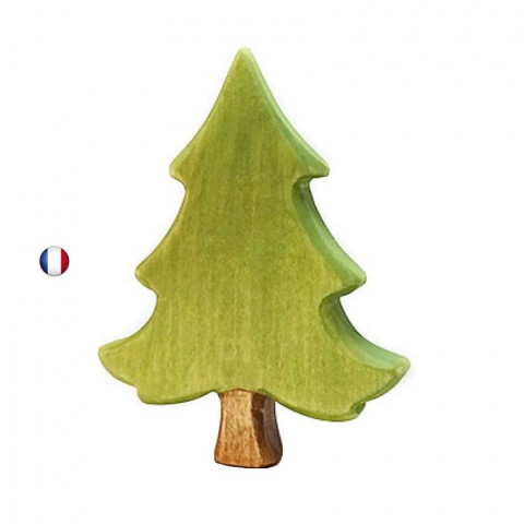 Grand sapin, arbre décor en bois steiner waldorf de  Brin d'Ours