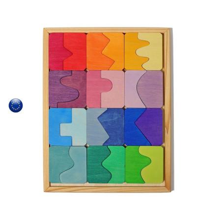 Puzzle concave convexe