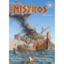 Nisyros, jeu de strategie  cooperatif, ecologique et ethique de sunny games strasbourg