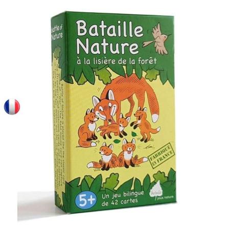 Bataille nature, la lisière de la forêt
