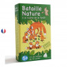 Bataille nature, la lisière de la forêt, jeu de carte ecologique et ethique français de betula