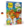 Calendrier de l'avent, 24 surprises jouets en bois de Erzi