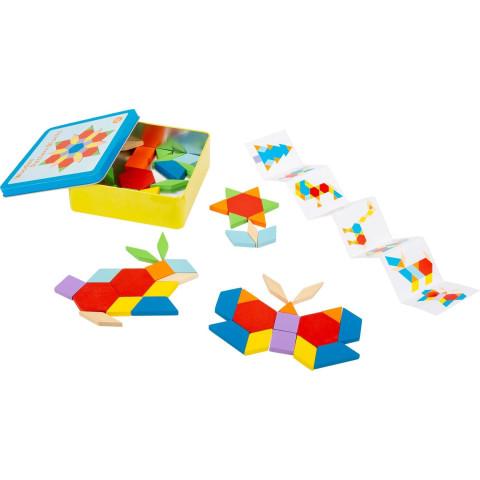 Tangram, jeu de société et d'imagination, reflexion et rapidité. de small foot design legler