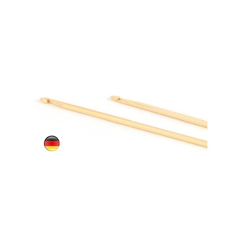 Crochet en bambou fin, 3-4 pour laine fin steiner waldorf