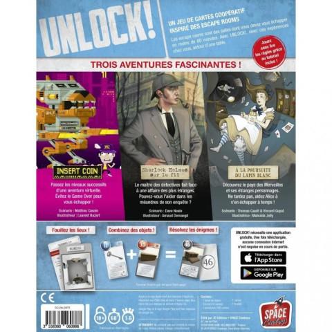 Unlock, Heroic Adventures, escape game cooperatif français de space cowboys
