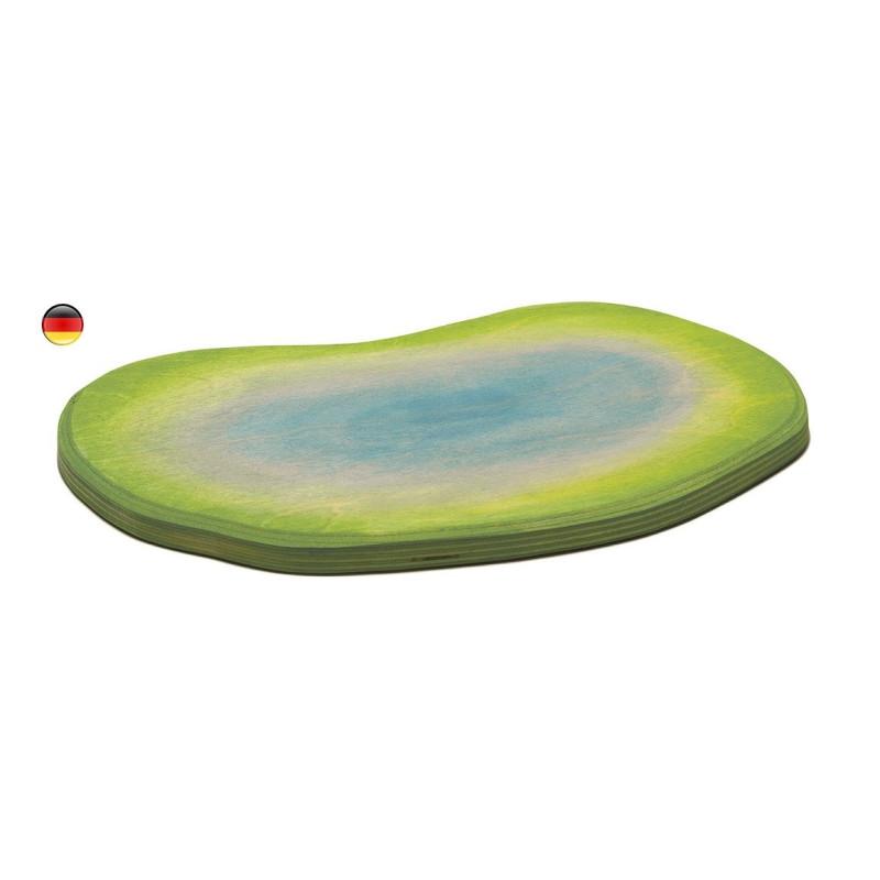 Etang, lac, bassin pour decor de figurines en bois Ostheimer
