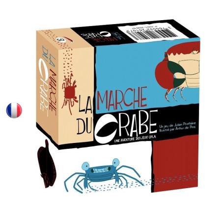 La marche du crabe, jeu cooperatif