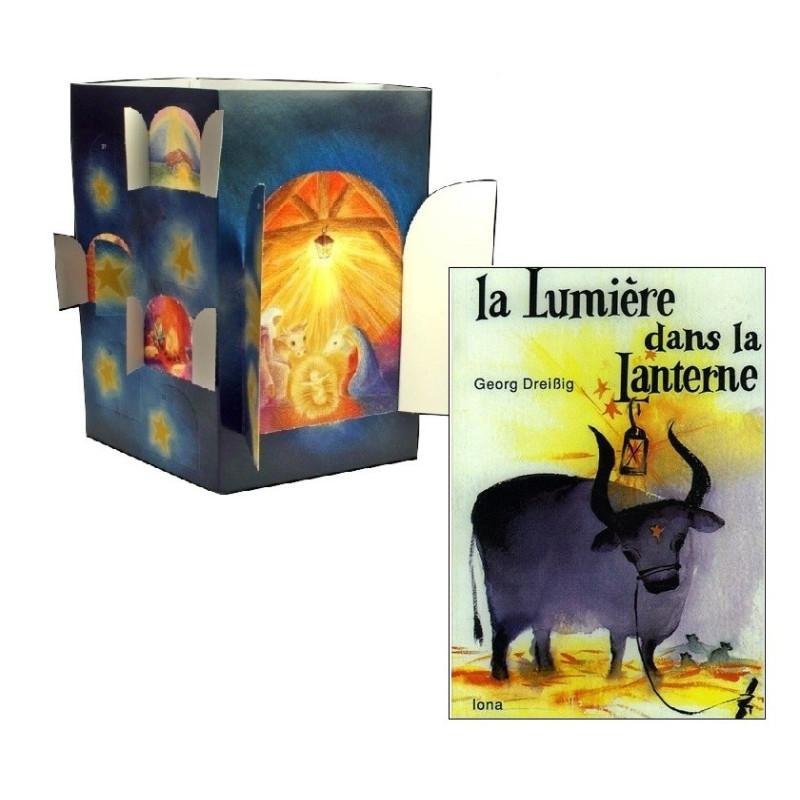 Calendrier d'avent et livre de noel : la lumière dans la lanterne, steiner waldorf edition iona