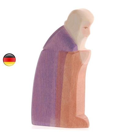 Joseph santon de noël, figurine en bois
