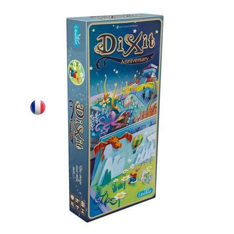 Dixit 9 anniversary, extension de jeu DIXIT multi primé, libellud france