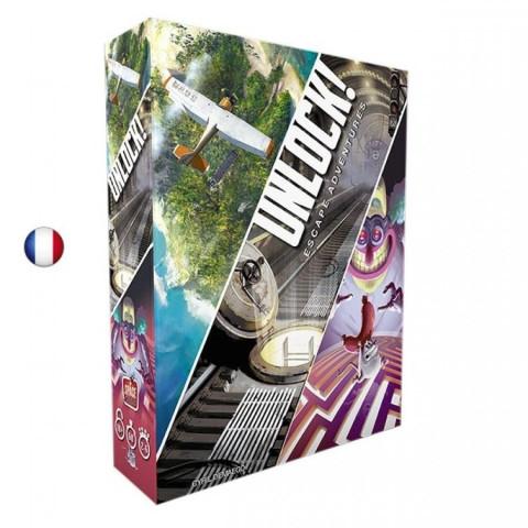 Unlock, Escape Adventures, escape game cooperatif français de space cowboys