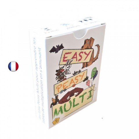 Easy peasy multi, jeu ludo educatif d'apprentissage des tables de multiplication par HT crea jeux
