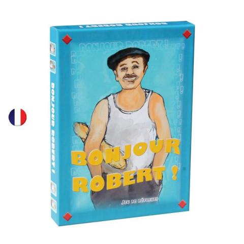 Bonjour Robert, jeu de cartes d'ambiance de jeux fk