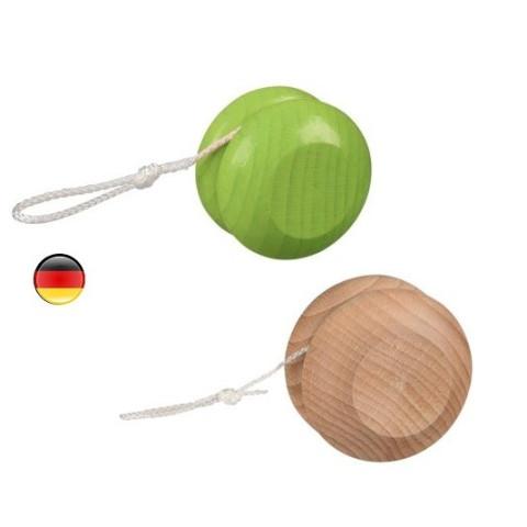 Yoyo, jouet en bois coloré