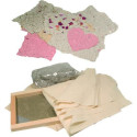 Kit creatif papier recyclé dieters
