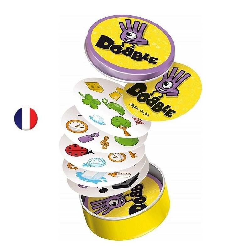 Dobble,  jeu de société français, d'observation, de reflexes et de rapidité, + 6ans. de Asmodee