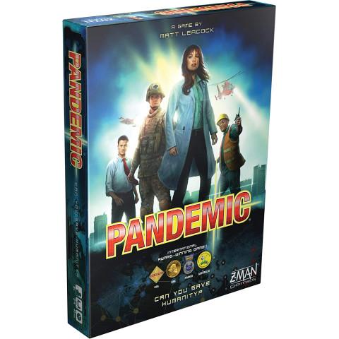 Pandemic, Le sort de l'humanité est entre vos mains, un jeu de société coopératif intense dès 14 ans!