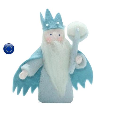 Poupée Roi Hiver, lutin pour table de saison hiver waldorf ambrosius dolls