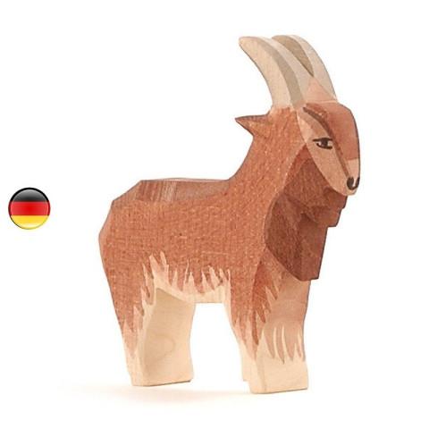 Figurine bouc chèvre, animal, jouet en bois steiner waldorf Ostheimer