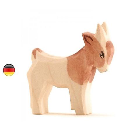 Figurine chèvreau, animal, jouet en bois steiner waldorf Ostheimer