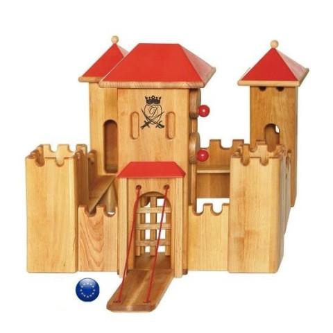Grand chateau fort en bois waldorf