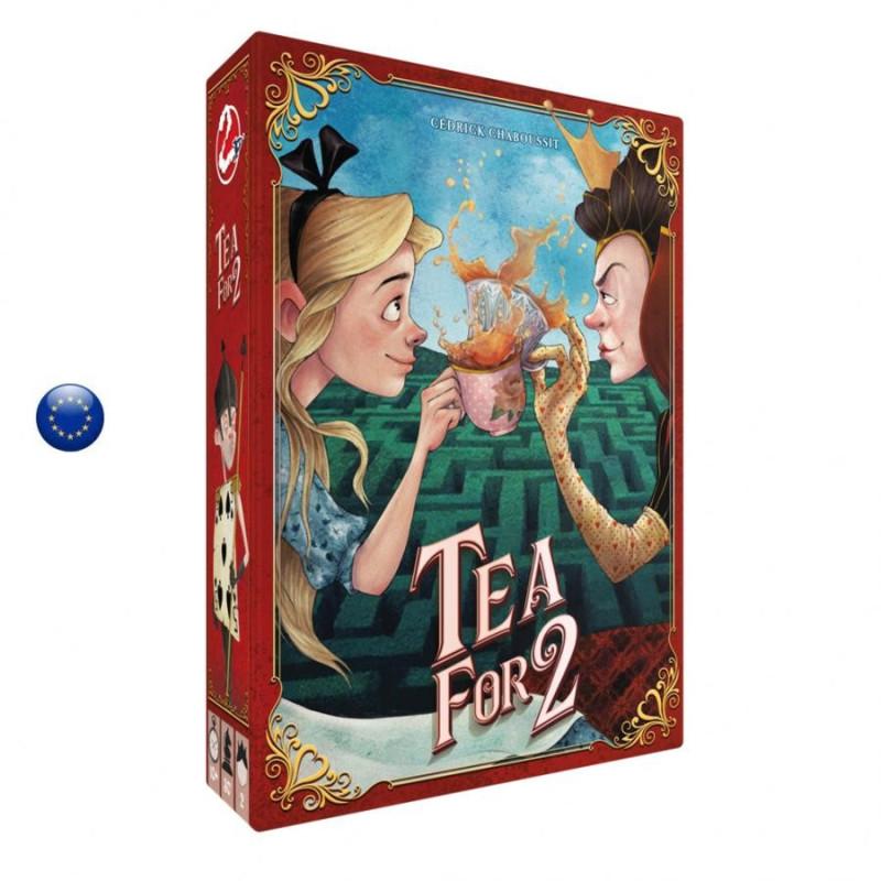 Tea for two, Jeu de strategie pour 2, une partie de carte entre Alice et la dame de coeur, de space cowboys france