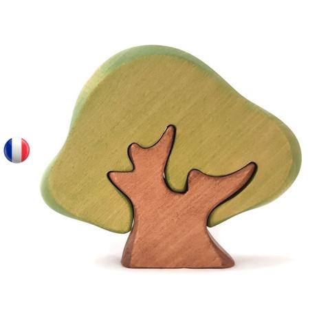 Chêne vert, arbre décor en bois steiner waldorf de Brin d'ours