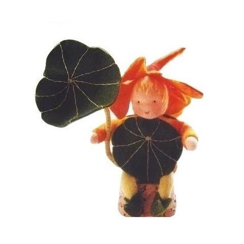 kit lutin articulé Capucine en feutrine de witte engel