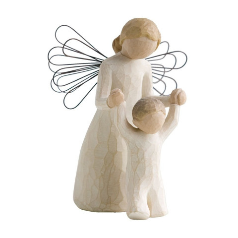 Statuette Ange Gardien de Willow Tree