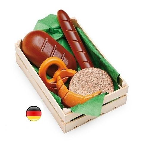 cagette boulangerie en bois, jouet marchande erzi