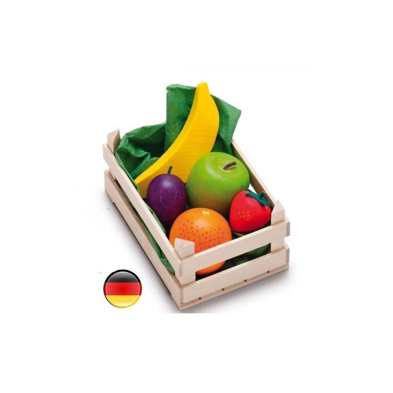 cagette de fruits en bois pour marchande erzi