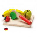 Kit salade de fruit à couper, jouet en bois erzi