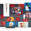 kit créatif : decouverte laine feutrée bio filges