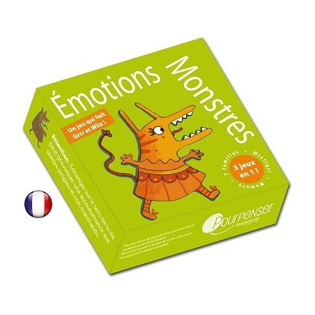 Jeu émotions monstres