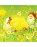 jeux et deco de printemps et Pâques, naturels et bio, steiner-waldorf